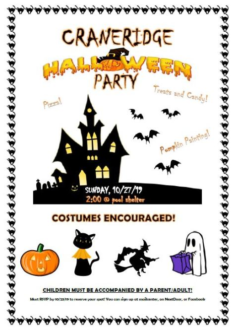 Cr Holloween Party